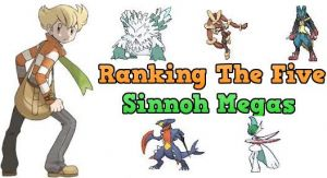 Sinnoh Megas Ranked