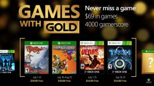 Upcoming July Xbox Free Games with Gold