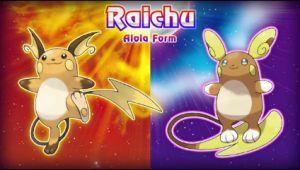 Alolan Raichu Leaked