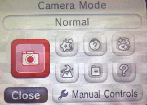 beanng how to change camera mode