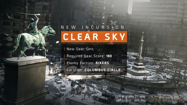 Update 1.2 release confirmed for The Division