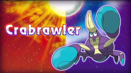Crabrawler The Next Sun & Moon Pokemon Revealed