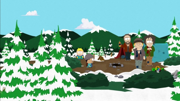 The homeless problem south park the stick of truth