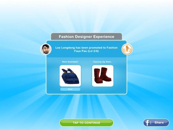 Sims Freeplay Fashion Design Cheats