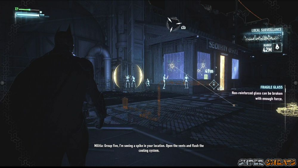 how to use vision mode on batman arkham knight