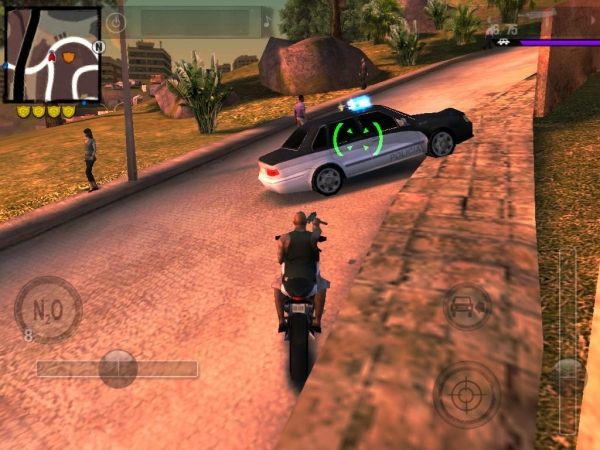 Gangstar Rio Map shield on the map to take