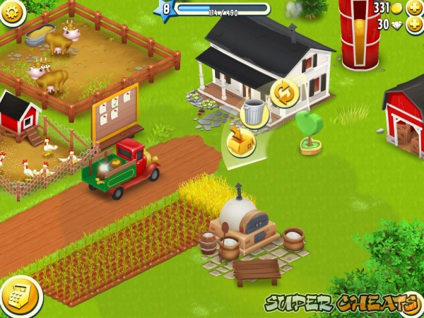 Beautifying Your Farm Hay Day