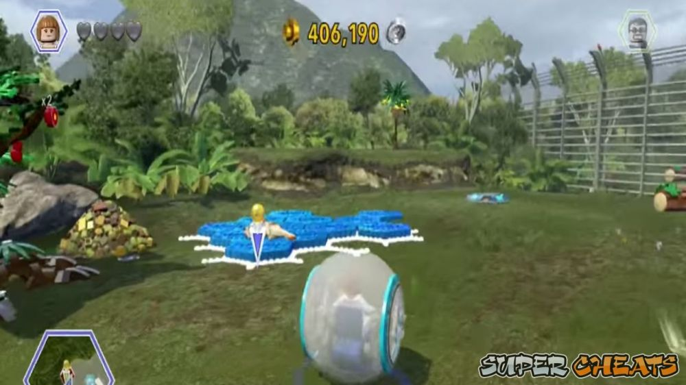 3ds jurassic how to get mushroom for sick