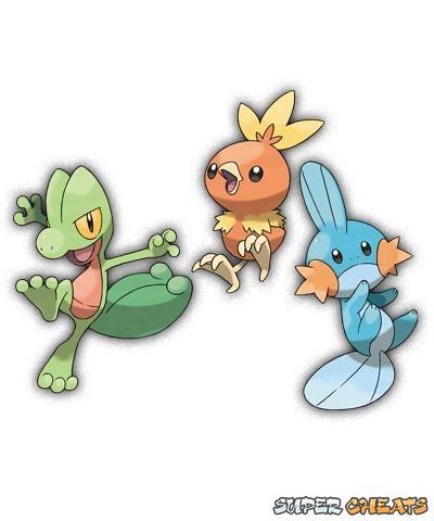 Pokemon Ruby Starters Images | Pokemon Images