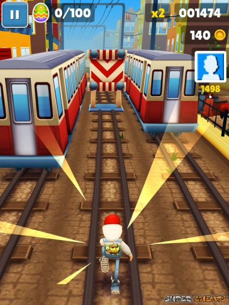 5 bushes subway surfer