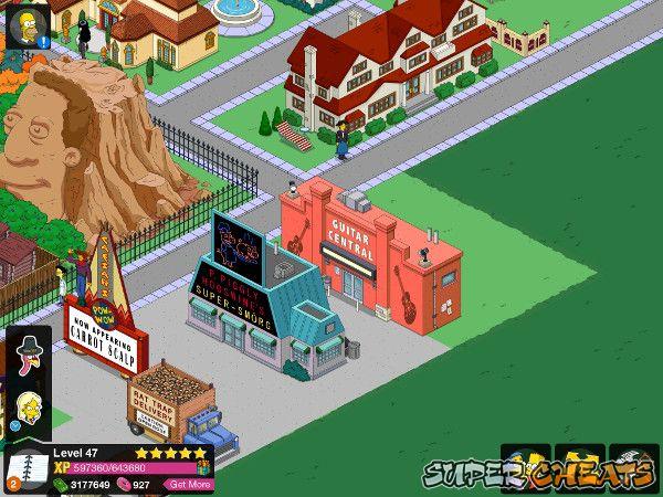 Springfield Down Cheats  Devdas Angers