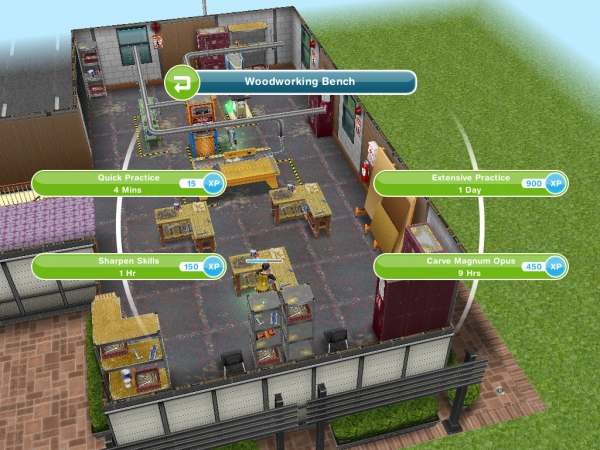 Sims FreePlay Kitchen Benchtop