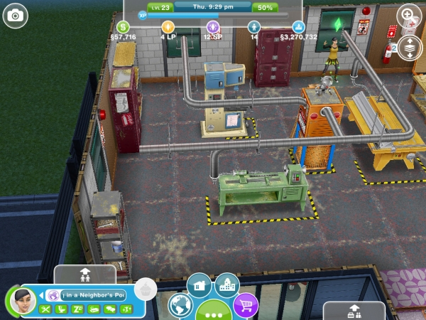 woodworking simple design: More Quick practice using a neighbors woodworking bench sims freeplay