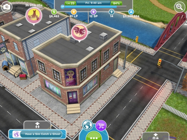 The Salon The Sims Freeplay
