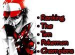 Ranking The Ten Pokemon Champions
