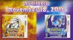 Pokemon Sun & Moon Demo Now Live