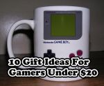 10 Gifts for Gamers for $20 or under