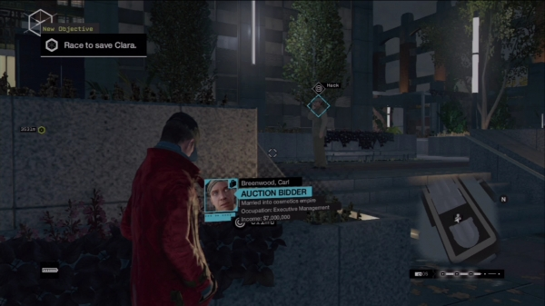 Watch Dogs  Privacy Invasion Map
