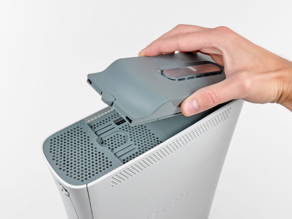 how to remove xbox 360 hard drive from case