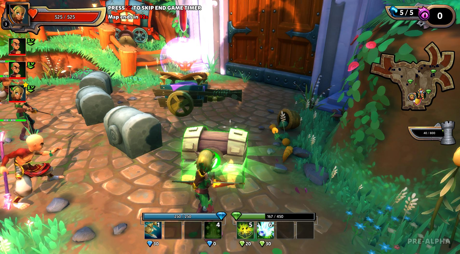 Dungeon Defenders II: Vanguard Pack 2018 pc game Img-4