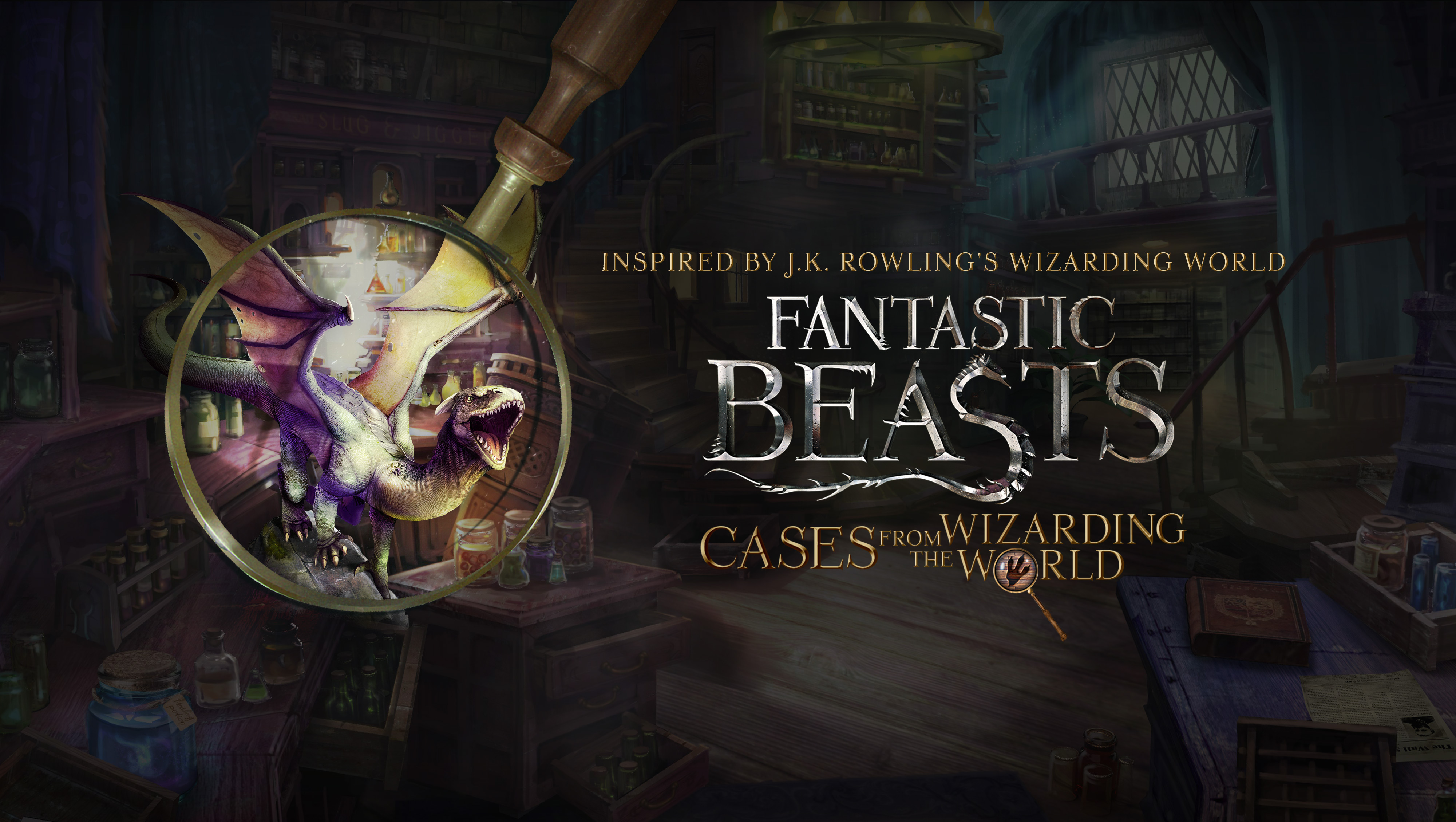 Fantastic Beasts: Cases From The Wizarding World Guide