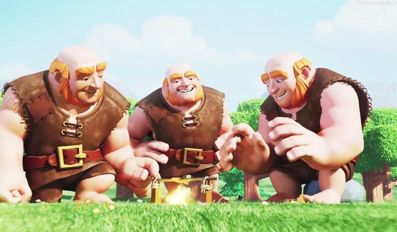 Clash Of Clans Troops Levels Giant