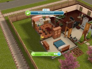 on sims freeplay designer home diions