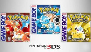 Pokemon Red, Blue & Yellow Global Digital Release