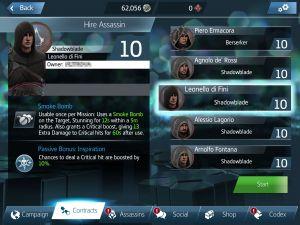 Hirelings Assassins Creed Identity