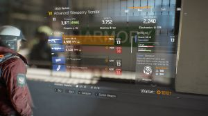 Vendors - Tom Clancy's The Division