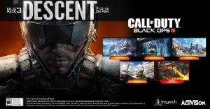 Call of Duty Black Ops III DLC Pack, Descent Available Now on PS4