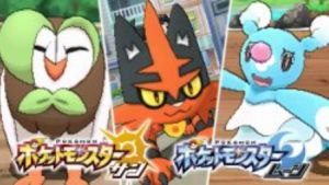Pokemon Sun & Moon Starter Evolutions Revealed
