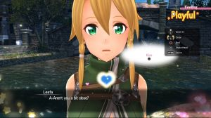 Affection System - Sword Art Online: Hollow Realization