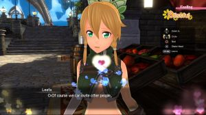 Affection System - Sword Art Online: Hollow Realization