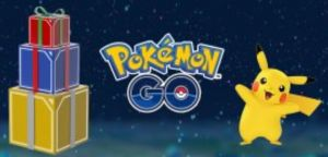 Pokemon GO Holiday Promotion Now Live