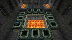 End portal minecraft pe creative mode | End Portal