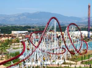 Top 5 Fastest Roller Coasters - RollerCoaster Tycoon Touch