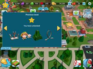 What are the Level Unlockables? - RollerCoaster Tycoon Touch