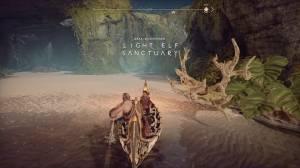 Light Elf Sanctuary - God of War (PS4 - 2018)