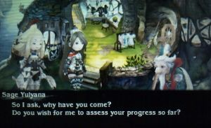 Yulyana's Test of Skill - Bravely Default