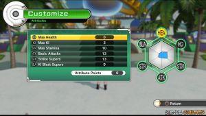 Attributes - Dragon Ball Xenoverse