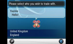 Global trade system pokemon white