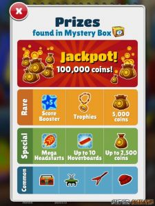 what are active power ups in subway surfers