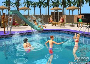 Dating simulator full walkthrough to the pool