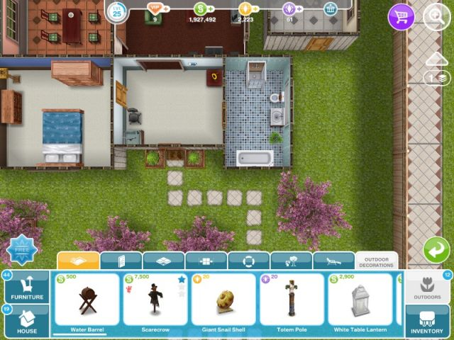 Photo : Sims Freeplay Homes Designs Images. Sims Freeplay Two ...