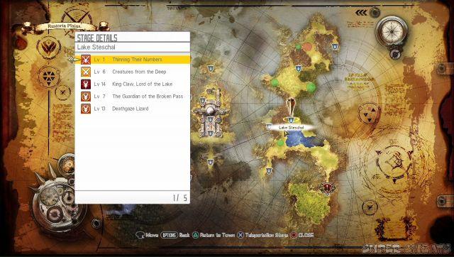 Navigation Sword Art Online Hollow Realization - Navigation map online