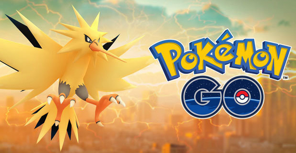 Zapdos Has Arrived In Pokemon GO