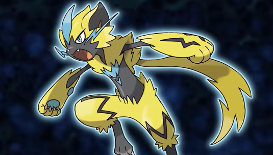 Zeraora Officially Revealed!