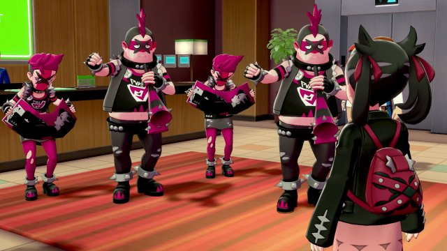 Team Yell Introduced As Antagonist Group For Pokemon Sword & Shield!
