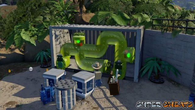 Minikits - Welcome to Jurassic Park - Lego Jurassic World